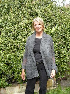 Ravelry: Shawl Collared Wrap pattern by Christine Durbridge