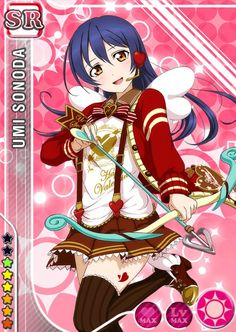 Love Live! Dominates the Top 10 Anime Characters to Get Give Valentine's Day Chocolate Poll haruhichan.com Love Live Umi Sonoda