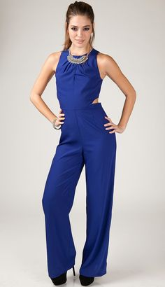 290643d24ce This dressy jumpsuit is sure to give you a boost of confidence