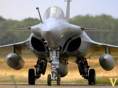 French Rafale M. The French do carrier aircraft in style. The best looking tailhook jet since the mighty F-14 Tomcat.