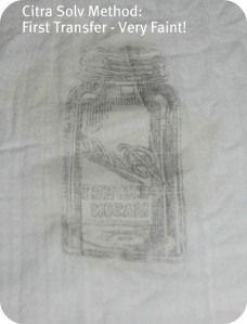 DIY image transfer to fabric