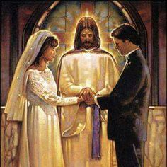 Ron DiCianni art print: The Covenant. Don't forget to count with Jesus too before you make a decision in your marriage! Image Jesus, Jesus E Maria, Saint Esprit, Bride Of Christ, Prophetic Art, Jesus Art, Biblical Art, Catholic Art, Catholic Wedding