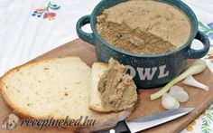 Érdekel a receptje? Sandwich Cream, Cooking Recipes, Healthy Recipes, Hungarian Recipes, Dairy Free, Gluten Free, Chicken Recipes, Dinner Recipes, Food And Drink
