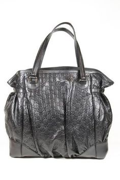 Gucci Handbags Large Black Guccissima Leather $1,195.00  www.your-online-fashion.com