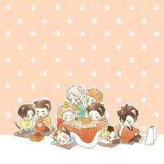 Just a tons of Haikyuu photos. Haikyuu Fanart, Haikyuu Anime, Anime Chibi, Kagehina, Kenma, Conan Movie, Chibi Sketch, Akaashi Keiji, Kuroken