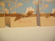 Set of 6 Thank You Flower Cards by nyra on Etsy,