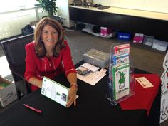 Teresa at the Stikeman Elliott book signing in Toronto. #MisforMoney