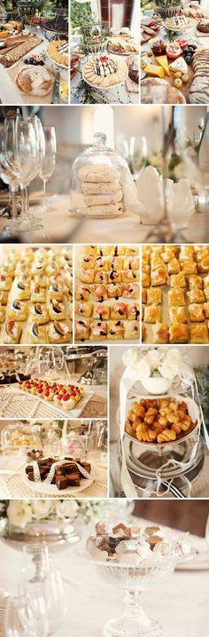 Fabulous buffet at a french wedding