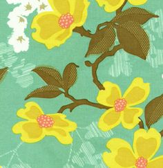 Dogwood Sunglow  Designer: Joel Dewberry  Collection: Modern Meadow