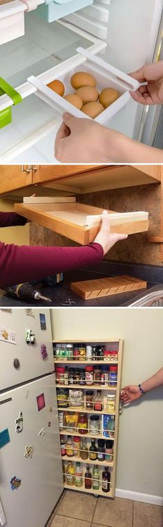 Clever Kitchen Storage Ideas...Call today or stop by for a tour of our facility! Indoor Units Available! Ideal for Outdoor gear, Furniture, Antiques, Collectibles, etc. 505-275-2825