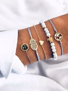 [good_name] discover at SHEIN. You can be a part of our latest bracelets . - Discover [good_name] at SHEIN. You can buy some of our latest bracelets online from today. Cute Bracelets, Bracelets For Men, Fashion Bracelets, Bangle Bracelets, Fashion Jewelry, Women Jewelry, Link Bracelets, Style Fashion, Lover Fashion