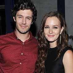 Leighton Meester and Adam Brody are engaged.