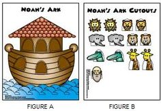 Cute Noahs Ark Free Printable Craft...cute but wish they would only put one window and door.