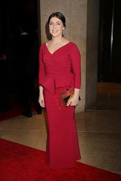 Mayim Bialik 19th Annual Art Directors Guild Awards Beverly Hills CA January 31 2014 ��Kurt Krieger