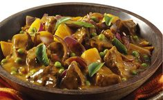 Tasty Mutton, Pea & Potato Curry recipe via Whats For Dinner Lamb Recipes, Curry Recipes, Cooking Recipes, Healthy Recipes, Meat Recipes, Healthy Food, South African Recipes, Indian Food Recipes, Mutton Curry Recipe