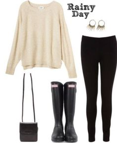 Casual outfit for those chilly dreary days