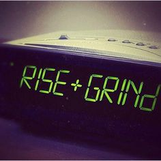 It's a new day, rise and grind Rise And Grind Quotes, Rise N Grind, Morning Motivation, Monday Motivation, Fitness Motivation, Fitness Quotes, Best Fitness Programs, 5am Club, Train Your Mind