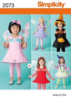 items similar to cute halloween costume patterns simplicity 2073 size a 6 months 1 on etsy