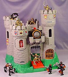 Fisher-Price Castle. My brother had one but I always took it and used it for my dolls lol