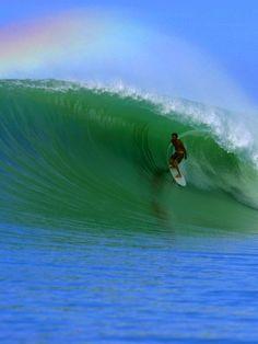 A Great wave!! Lagundri Bay, Nias, Sumatra, Indonesia