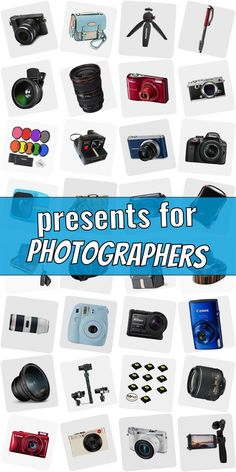 Are you looking for a present for a photograpy lover? Stop searching! Read our ulimative collection of gifts for phtographers. We show you cool gift ideas for photographers which are going to make them happy. Buying gifts for photographers does not need to be hard. And do not necessarily have to be costly. #presentsforphotographers Presents For Photographers, Preschool Activities, Popsugar, Cool Gifts, Searching, Entertaining, Gift Ideas, Cool Stuff, Happy
