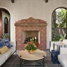 Spanish Fireplace