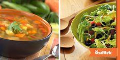 Sağlıklı ve hafif bir akşam yemeği için tercihiniz hangisi? Mevsim sebzelerinden yapılmış salata mı, sıcacık bir çorba mı?
