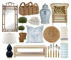Get the look: blue + white + so chic in Nashville - via Bungalow Blue Interiors