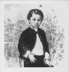 Albert Edward Kauikeaouli Leiopapa a Kamehameha, Prince of Hawaii, 1858-1862.