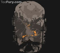 Blood Encounter by Glitch_co. Get yours here: http://www.teefury.com/?utm_source=pinterest&utm_medium=referral&utm_content=bloodencounter&utm_campaign=organicpost