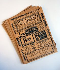 vintage newspaper  turning pages: Life, illustrated