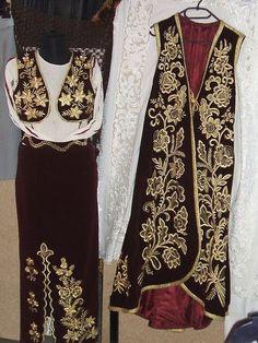 Albanian pirpiri; ladies' dress.