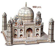 Taj Majal 3D Puzzle |  Wrebbit $38.95