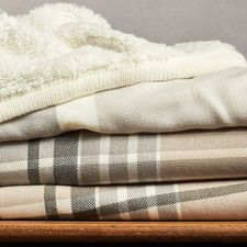 Menswear Reversible Sherpa Throw Was: $56.00 Now: $44.00