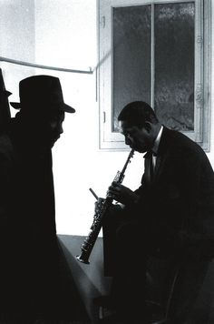 """My music is the spiritual expression of what I am — my faith, my knowledge, my being…When you begin to see the possibilities of music, you desire to do something really good for people, to help humanity free itself from its hangups… I want to speak to their souls."""" By John Coltrane"""