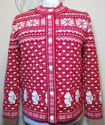 Moomin Knitting Pattern : Nancy kofte til barn #yarn #strikk #strikkeverden #sandnesgarn #garn #knittin...