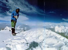 Nanga Parbat First Solo Ascent - Reinhold Messner On Nanga Parbat Summit August 9 1978