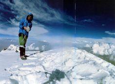 Nanga Parbat First Solo Ascent - Reinhold Messner On Nanga Parbat Summit  August 9 1978 Tirol 376168e06e