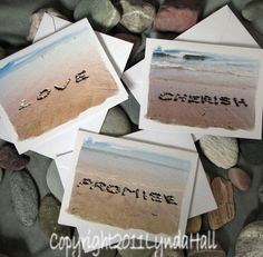 Valentine's Cherish Love Promise Beach Wish by myBeachWishes, $12.00