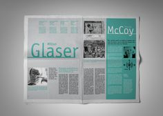 "Tabloid / Newspaper ""A /LAB"" [Editorial Design] on Behance"