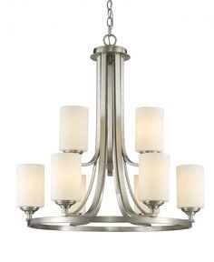 9 Light Chandelier : 2JQCG | Lights Unlimited Inc.