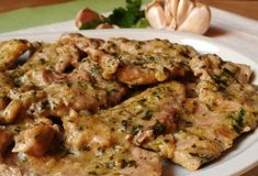 Veal Cutlets with Parsley and Garlic WW - Main Course and Recipe - wath watcher - Recipes Healthy Summer Recipes, Healthy Recipes On A Budget, Healthy Meal Prep, Ww Recipes, Budget Meal Planning, Budget Meals, Veal Cutlet, Plats Weight Watchers, Eggplant Dishes