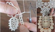 2 SIRA DESENLİ ÇARŞAF PİKE VE KENAR DANTELİ | Nazarca.com Crochet Earrings, Jewelry, Fashion, Hair Streaks, Lace, Flowers, Projects, Jewellery Making, Moda
