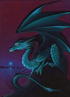 TwilightGlow1.jpg - by Nico Niemi from dragons