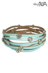Adorning Ava Leather Bracelet
