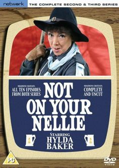 Not On Your Nellie - Series 2 And 3 - Complete [DVD] I really enjoyed these series very funny British Tv Comedies, Amazon Dvd, 1970s Childhood, Comedy Tv, 80s Kids, Dvd Blu Ray, Period Dramas, Best Actress, Looking Back