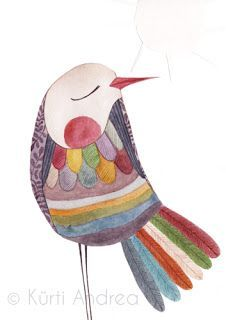 Children's fashion, illustration, theatre You are in the right place about flock of Bird Here we off Bird Illustration, Illustrations, Vogel Quilt, Bird Quilt, Funny Birds, Whimsical Art, Art Plastique, Bird Art, Bird Feathers