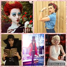 Single Costumes •Red Queen • Rosie the Reverter • Violet • Willy Wonka •Marilyn Monroe