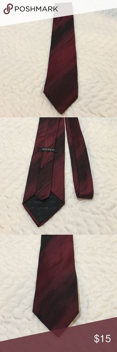DNKY Necktie DNKY necktie is 100% silk. It's red and black. Approximately 58 inches long. No rips, tears or stains. Gently used. DNKY Accessories Ties