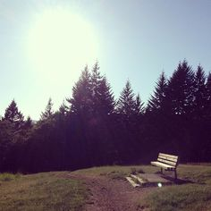 Corvallis, Oregon--I know exactly where this is, RJ and I go all the time. We sit on that bench and look out upon the city and talk about our future and how much we love one another. It's a beautiful park.